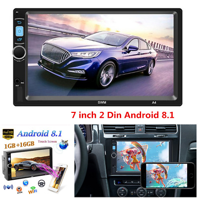 $ CDN91.22 • Buy 7inch Android 8.1 Car Radio Stereo GPS 2Din HD Touch Screen MP5 Player FM WIFI