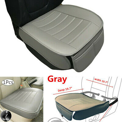 $ CDN21.81 • Buy Gray PU Leather Car Front Seat Cover Protector Cushion For Interior Accessories