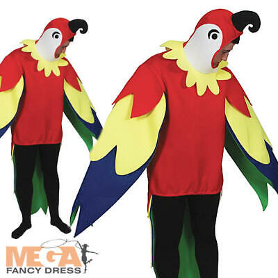Polly Parrot Adult Fancy Dress Pirate Animal Bird Mens Ladies Novelty Costume  • 22.99£