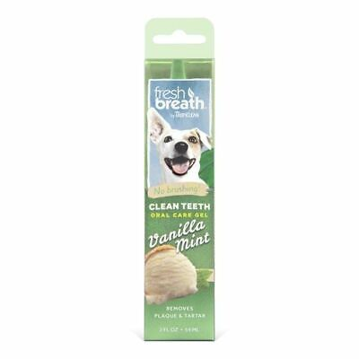 Tropiclean Oral Care Gel Remove Plaque Tartar No Brushing Clean Teeth For Dogs • 11.79£