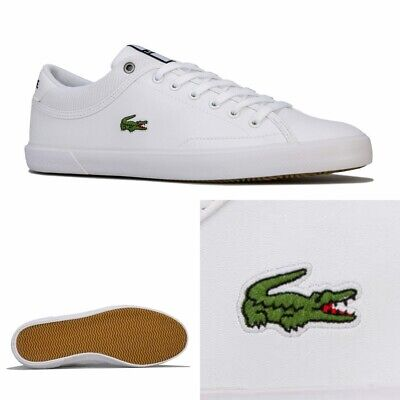 Mens Lacoste Angha 418 Cushioned Low Profile Trainers In White • 38.94£