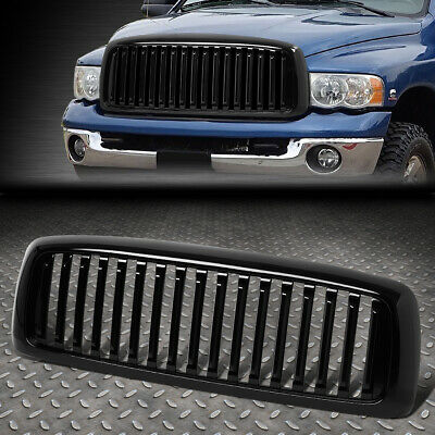 $58.88 • Buy For 02-05 Ram 1500 2500 3500 Vertical Styling Front Bumper Grille Grill Glossy