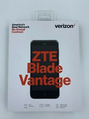 $34.99 • Buy Verizon ZTE Blade Vantage Prepaid Phone