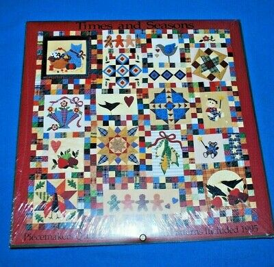$19.95 • Buy (NEW) A Piecemakers Quilt Calendar 1995 ~ Times And Seasons ~ Patterns Included