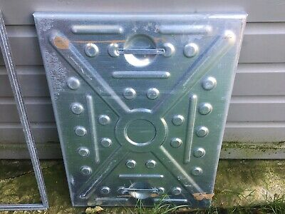MANHOLE COVER & FRAME 600x450  2.5Tonne - All Steel Lid And Frame, Access Cover • 24£