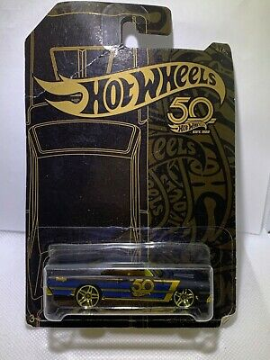 """$ CDN16.35 • Buy HOT WHEELS 50th ANNIVERSARY GOLD AND BLACK COLLECTION 4/6 """" 68 DODGE DART"""" MATTE"""