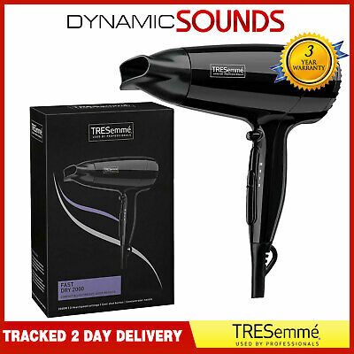 £14.95 • Buy TRESemme 9142TU 2000W Fast Dry Compact & Lightweight Hair Dryer