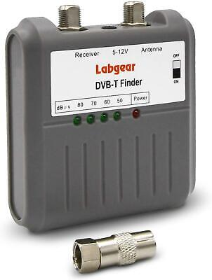 Labgear DVB T Signal Strength Finder Freeview HD TV Aerial Meter Tester • 13.60£