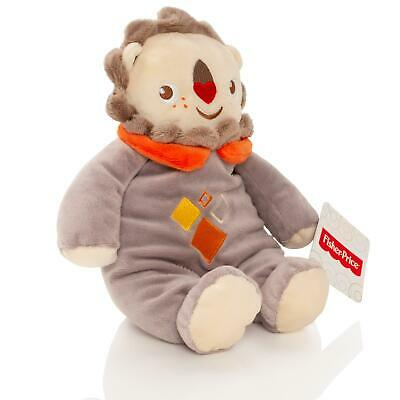 Fisher Price Baby 28cm Lion Teddy Bear Soft Toy Plush With Rattle Cuddle Gift • 2.50£