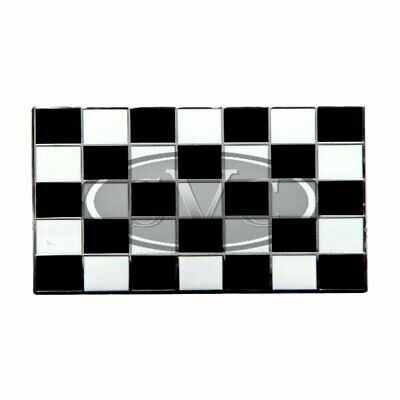 £8.50 • Buy Chequered Flag Badge Enamelled Stick On