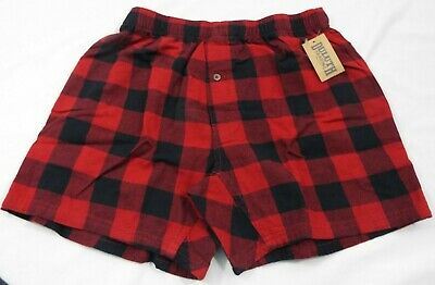 $28.04 • Buy 1 Duluth Trading Co Free Swingin' Flannel Boxers Red And Black Plaid 94230