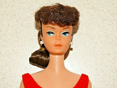 $ CDN205.10 • Buy Barbie:  VINTAGE Brunette PONYTAIL BARBIE Doll!