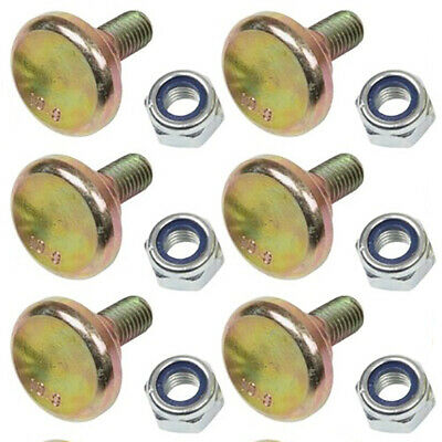 $29.99 • Buy 6 Pack Disc Mower Blade Bolts Nuts For Vicon CM165 CM167 CM1700 CM240 81160WN6