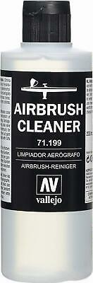 Airbrush Cleaner 200ml Acrylic Paint Waterbased Vallejo Model Air Non-Toxic NEW • 8.55£