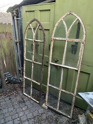 £450 • Buy Antique Gothic Cast Iron Arched Window Frame
