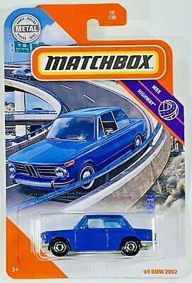 $6.25 • Buy ⭐️⭐️⭐️ '69 BMW 2002 - Matchbox - MBX Highway ⭐️⭐️⭐️