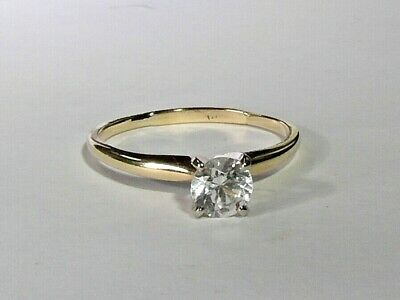 £375 • Buy 20g Ladies 14ct Gold 0.75 Carat Spinel Solitaire Ring Size Q
