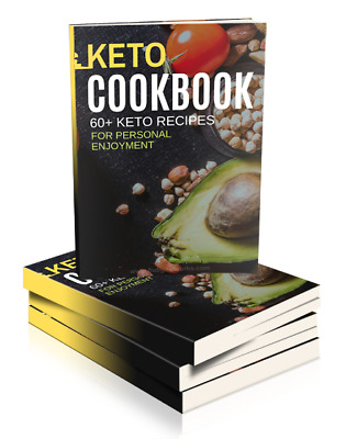 $1.99 • Buy Keto Diet Cook Book +60 Keto Recipes For Enjoyment 🔥 Instant Delivery 🔥