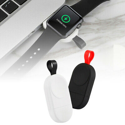 $ CDN11.27 • Buy 1pc USB Fast Charger Wireless Magnetic 100-200KHz For Apple Watch 1/2/3/4 Series