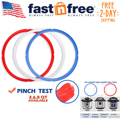 $13.26 • Buy Silicone Sealing Ring For Instant Pot Accessories, Fits 5 Or 6 Quart Models,
