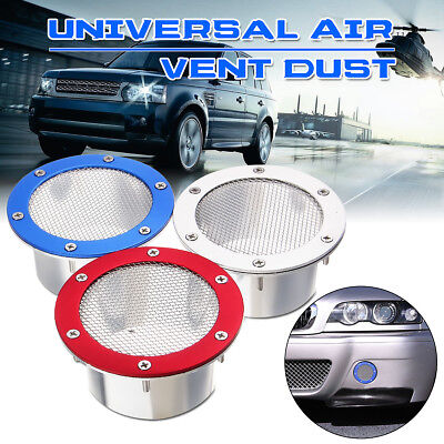 $15.90 • Buy Universal Car Racing Air Duct Grille Bumper Vent Inlet For Cold Air Intake