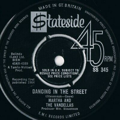 Martha And The Vandellas* - Dancing In The Street (7 , Single) • 28.49£