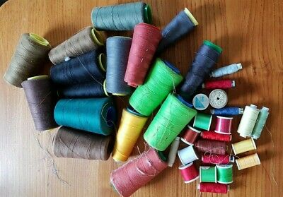 Joblot Sewing Threads Cones/spools For Overlocker Or Hand Sewing • 5.50£
