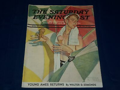 $ CDN93.98 • Buy 1940 July 13 Saturday Evening Post Magazine - Norman Rockwell Cover - L 1241