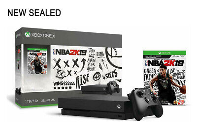 $309.99 • Buy Xbox One X 1TB Console - NBA 2K19 Bundle