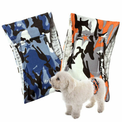 Inontinence Male Dog Puppy Training  Sanitary Pant Diaper Tummy Belly Wrap Band • 5.99£