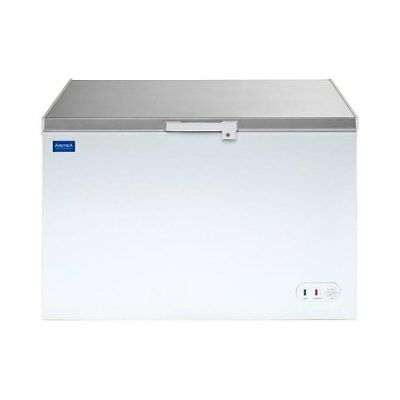 Arctica Chest Freezer White With S/s Lid 358 Litre - HEC916 Catering Commercial • 549.49£