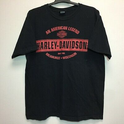 $ CDN30 • Buy VTG Men's Harley-Davidson T-Shirt Genuine Motorcycle Reading, PA XL