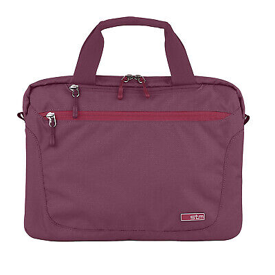 STM Swift Medium Shoulder Bag For 15-Inch Laptop And Tablet - Dark Red NEW • 20£