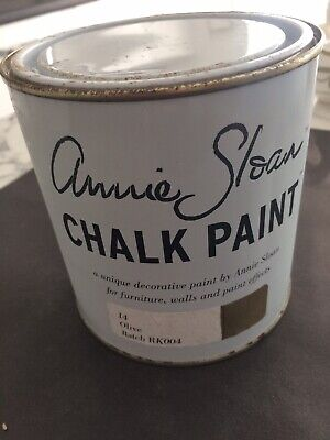 Unopened Unused 1 Ltr Can Annie Sloan 14 Olive Chalk Paint  • 5£