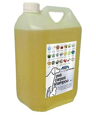 Carpet Cleaning Shampoo Solution Pet Odour Eliminator Lemon Low Foam 5L NEUTRA • 10.45£