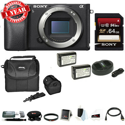 $ CDN1605.79 • Buy Sony A6300 Mirrorless Digital Camera Body With 64GB SD Card And Battery Bundle
