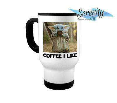 $27.99 • Buy Coffee I Like Baby Yoda Mug | Mandalorian Star Wars Coffee Cup 14 Ounce Travel