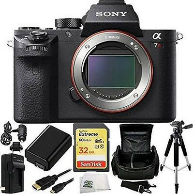 $ CDN2328.45 • Buy Sony Alpha A7R II 4K Wi-Fi Digital Camera Body + 32GB Card Supreme Bundle New!