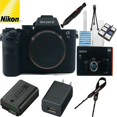 $ CDN1655.88 • Buy Sony Alpha A7 II 24.3 MP Digital SLR Camera - Black (Body Only) W/ Cleaning Kit