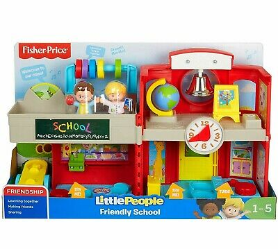 £28.99 • Buy Fisher-Price Little People Friendly School Deluxe Musical Learning Playset Toy