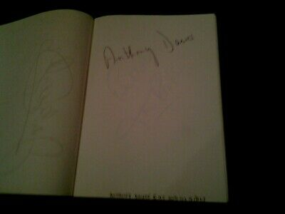 £19.99 • Buy Anthony Dawes  Signed Autograph Book Page
