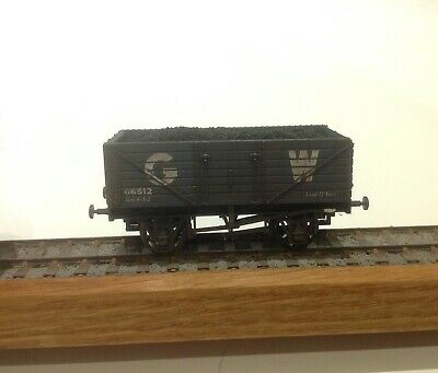 Dapol B348 GWR 7 Plank With Coal Load - Hand Weathered • 6.50£