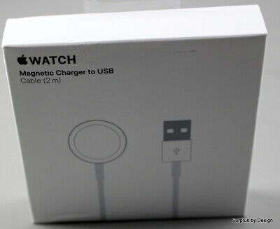 $ CDN0.99 • Buy *NEW SEALED*Apple Watch A1923 MU9H2AM/A Magnetic Charger To USB 2m