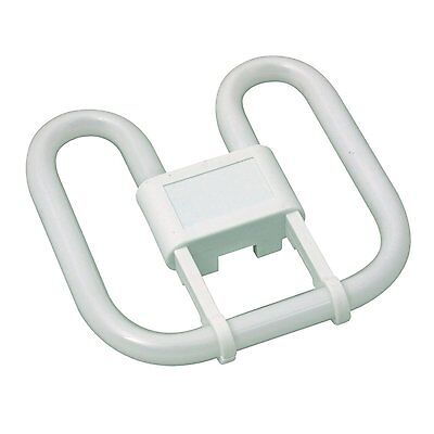 WC Office Bathroom Toilet Ceiling Bulb - 16w 28w 2D Square 2 Or 4 Pin Warm White • 6.99£