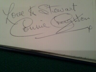 £39.99 • Buy Connie Creighton Signed Autograph Book Page