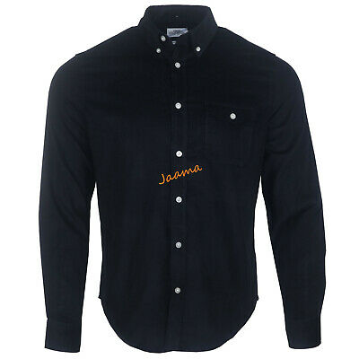 Men's Ex Chainstore Corduroy Long Sleeves Cotton Winter Spring Casual Shirts • 7.99£