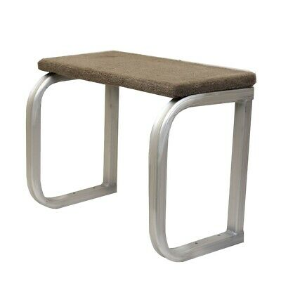 $ CDN174 • Buy Sun Tracker Boat Privacy Station Bench | Folding Seat Aluminum Taupe