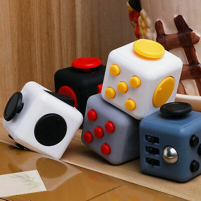 AU7.58 • Buy NEW Fidget Cube Hand Finger Focus Stress Reliever Toys Kids Gifts