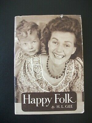 Happy Folk By H. L. Gee ~ The Everyday Series • 9.95£