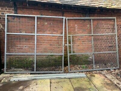 Metal Security Gates And Posts 13.6 Ft X 6.6ft • 400£